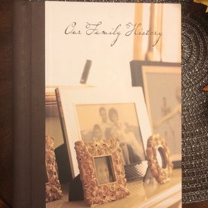 """New """"Our Family History"""" record album scrapbook"""